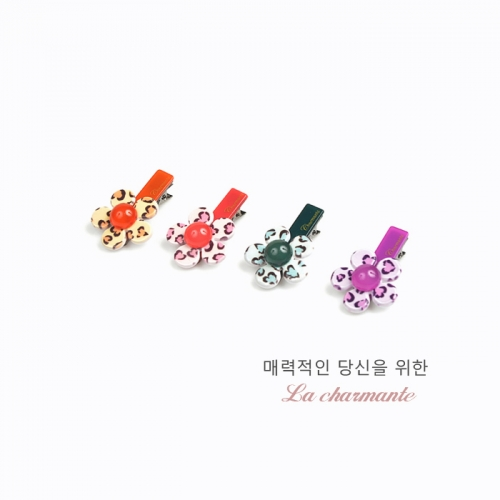 [charmante] 샤몽뜨 50 플뢰르 삼각악어핀 C063P