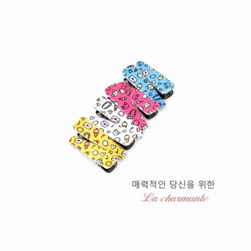[charmante] 샤몽뜨 50 큐티 삼각악어핀 C008P