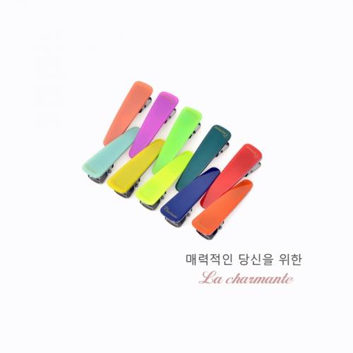 [charmante] 샤몽뜨 50 심플 삼각악어핀 C008